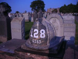Firehat grave